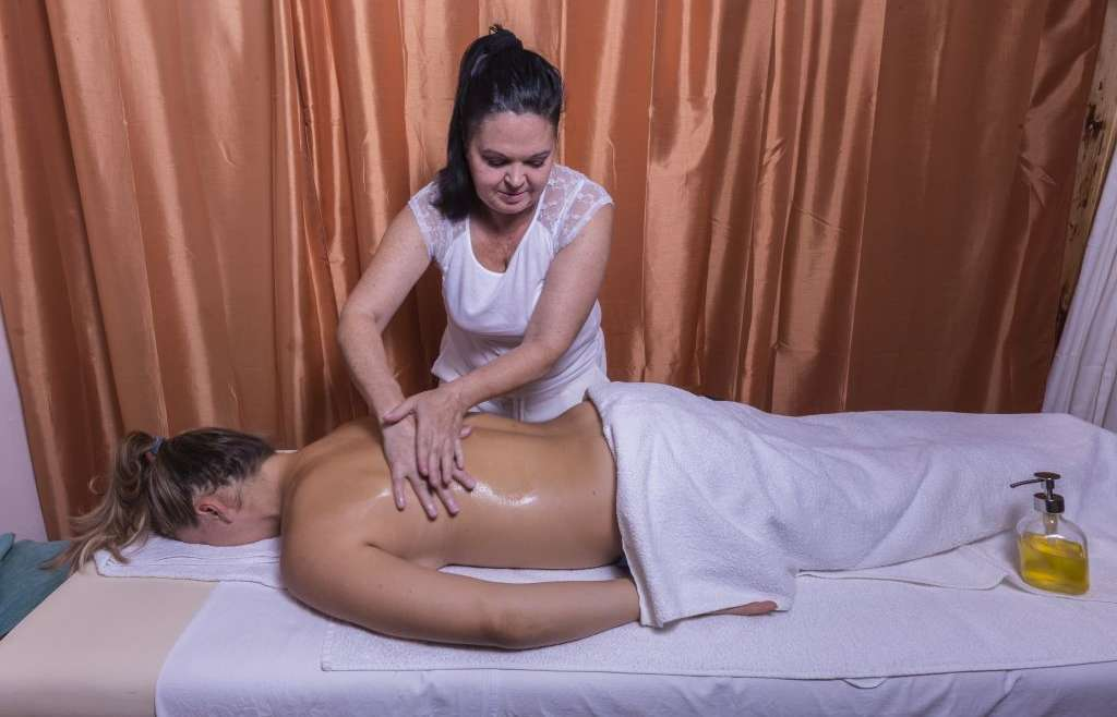 Oil Health Massage